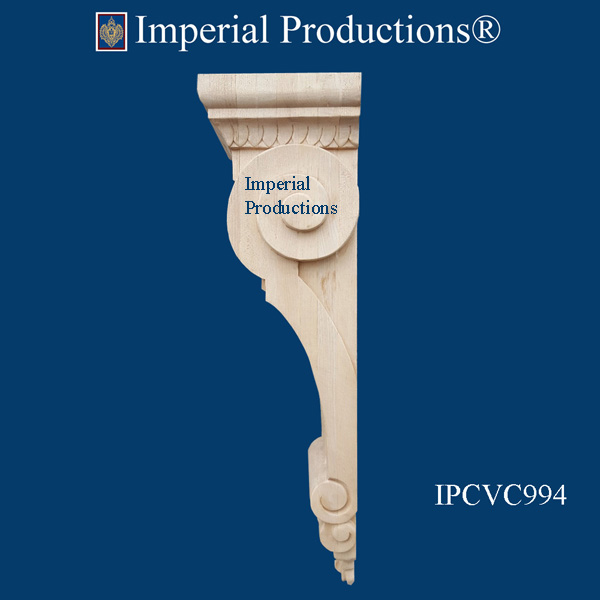 IPCVC994 Scroll corbel side view