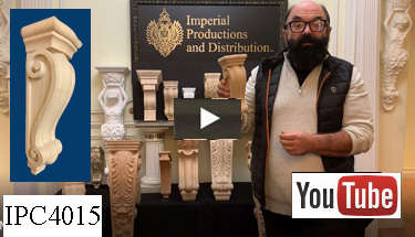 Youtube video IPC4015 Hand Carved Corbels