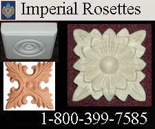 Rosettes - Round and Square