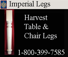 Harvest Table and Chair Legs