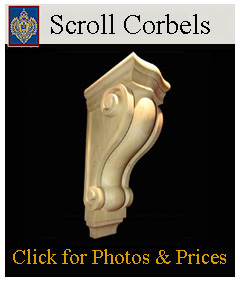 Plain Smooth Corbels