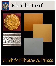 Metallic Leaf Paints for Carvings